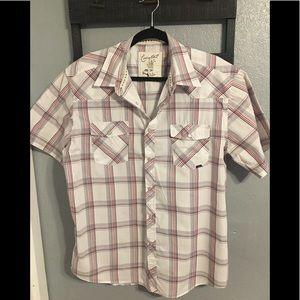 Coastal Plaid Short Sleeve Shirt